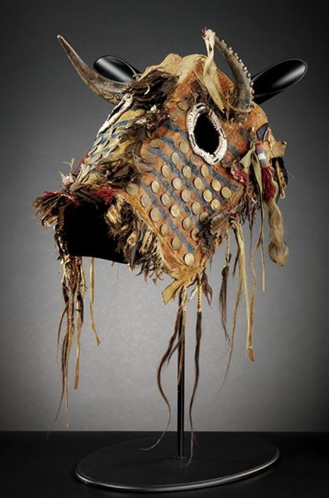 Maschera per cavallo della tribù dei Piedineri
