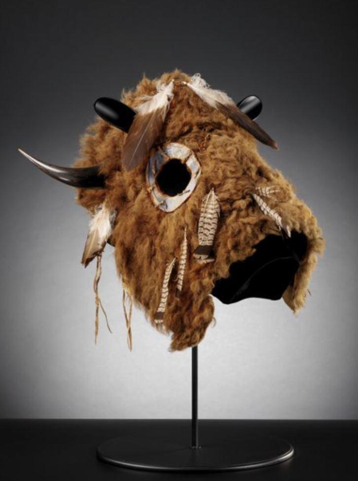 Maschera per cavallo della tribù dei Lakota
